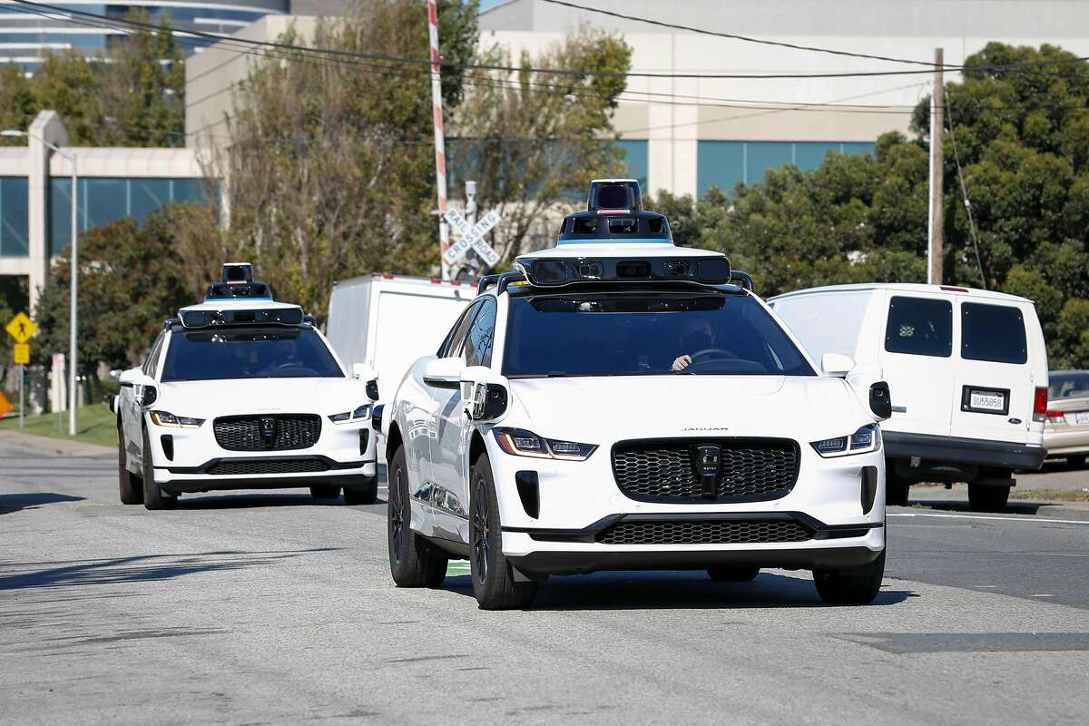 Waymo cars roll in South San Francisco. Waymo, a division of Google parent company Alphabet, is subleasing office space in Mountain View.