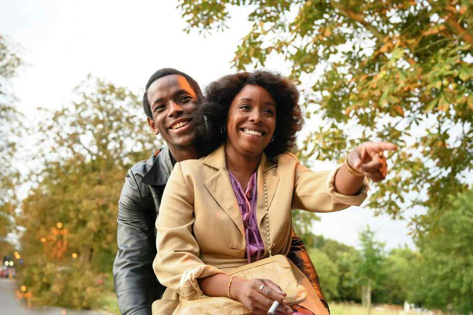 """""""Lovers Rock,"""" featuring Michael Ward and Amarah-Jae St-Aubyn, is one of five films in Steve McQueen's """"Small Axe"""" project. Photo: Parisa Taghizadeh, HO / TNS / Chicago Tribune"""