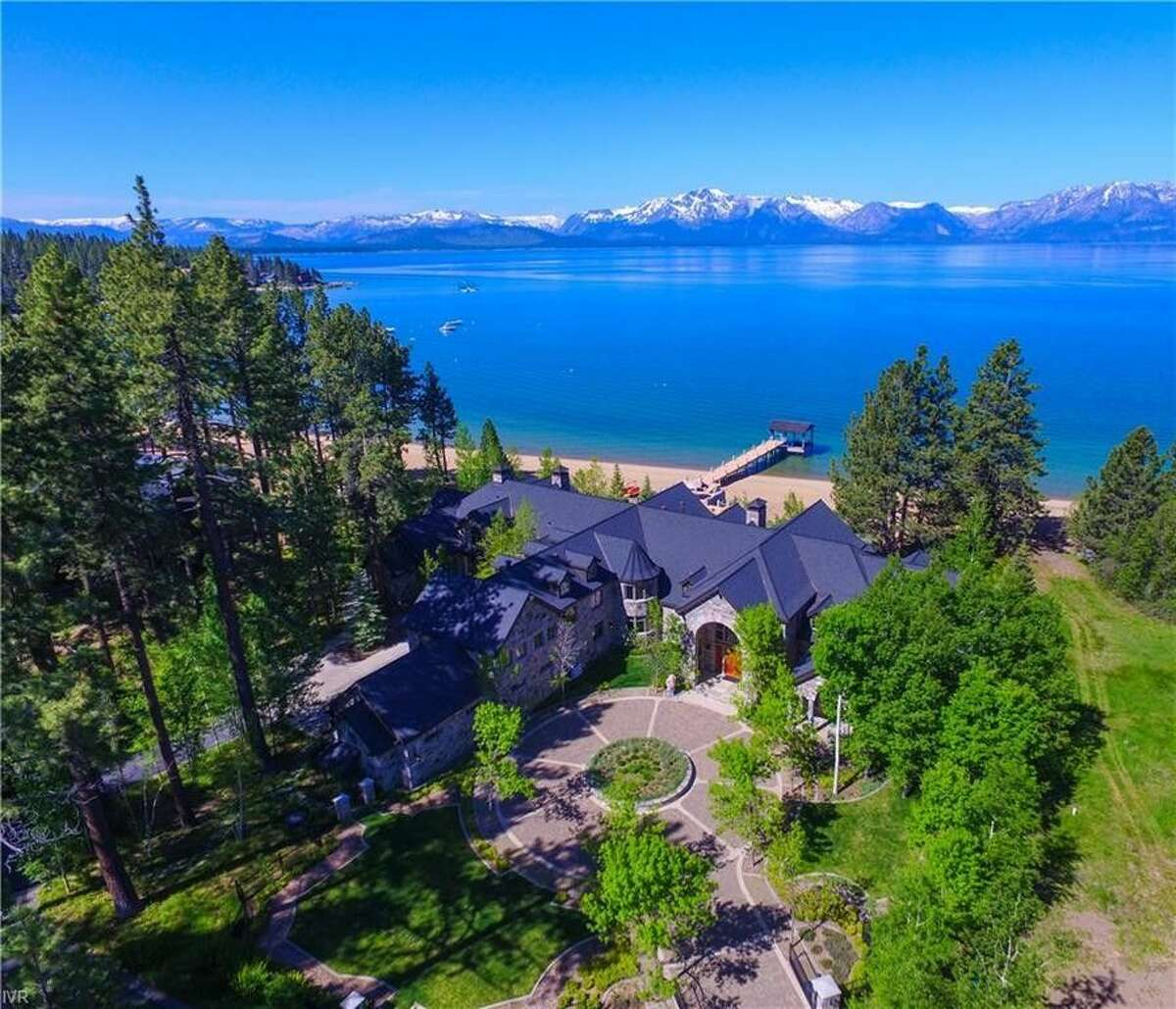 The most expensive sale in Tahoe this year was this home on Sierra Sunset Lane in Maria Bay, NV. The price was $38 million.