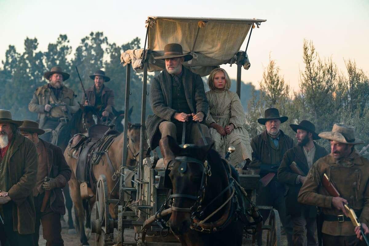 """Tom Hanks stars in """"News of the World."""""""
