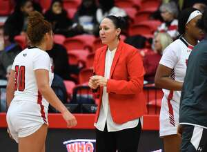 University of Hartford coach Morgan Valley.