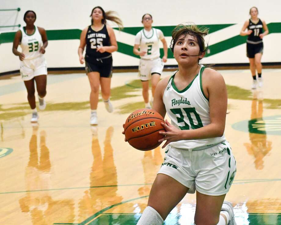 Floydada hosted Post in a pair of  non-district basketball games in Whirlwind Gym at Floydada on Monday, Dec. 21, 2020. The Whirlwinds picked up a 73-45 win and the Lady Winds suffered a 46-33 loss. Photo: Nathan Giese/Planview Herald