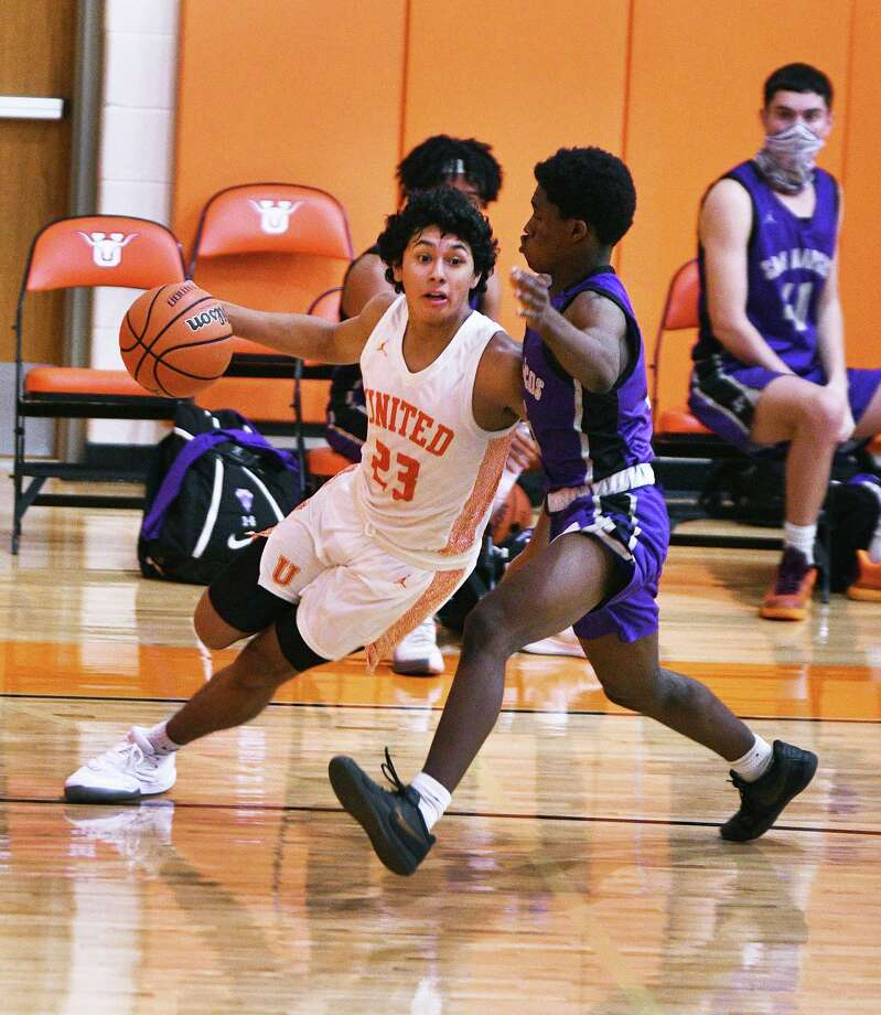 Carlos Castro and the United Longhorns will host the LBJ Wolves at 7 p.m. Tuesday. Photo: Cuate Santos /Laredo Morning Times File / Laredo Morning Times