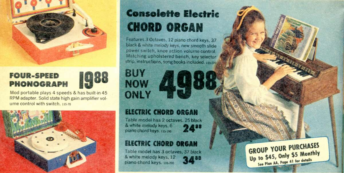 White Stores Christmas ad, 1973.