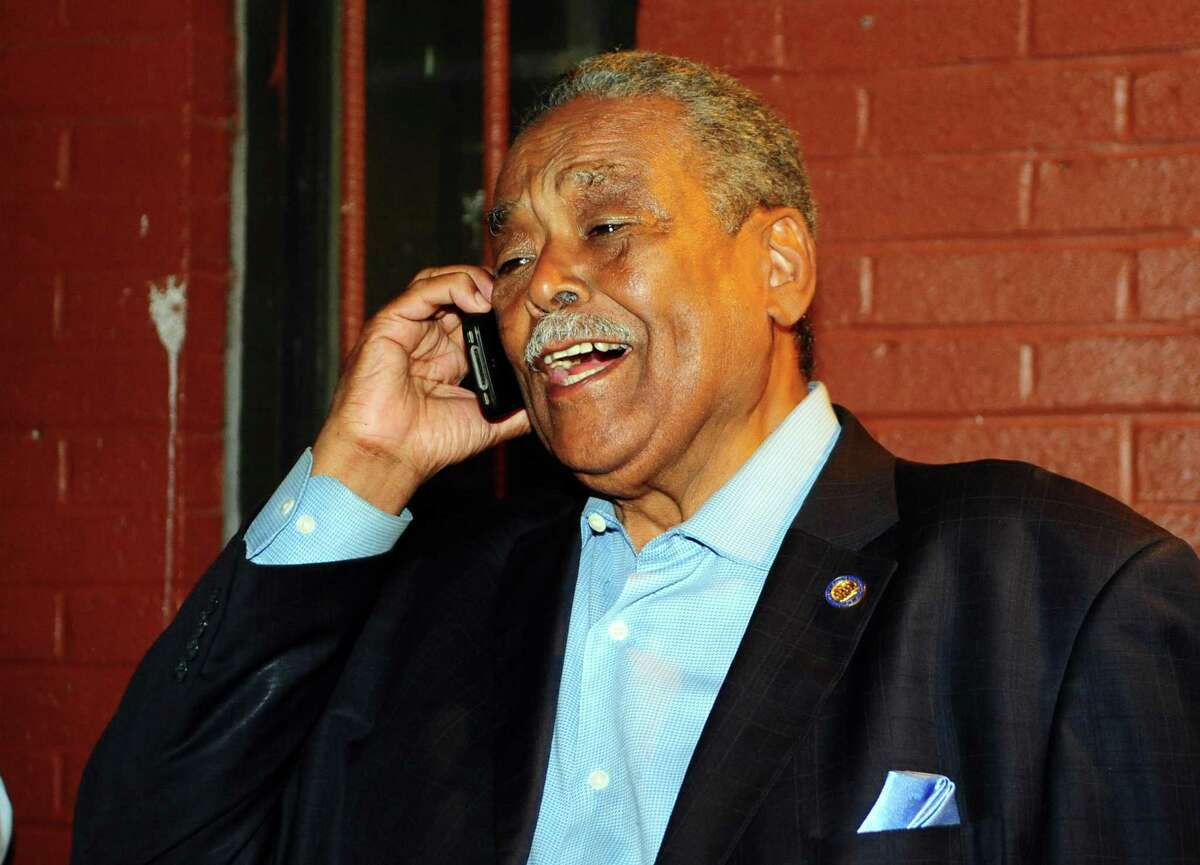 State Senator Edwin A. Gomes, after winning the August 2016 Democratic primary against Dennis Bradley.