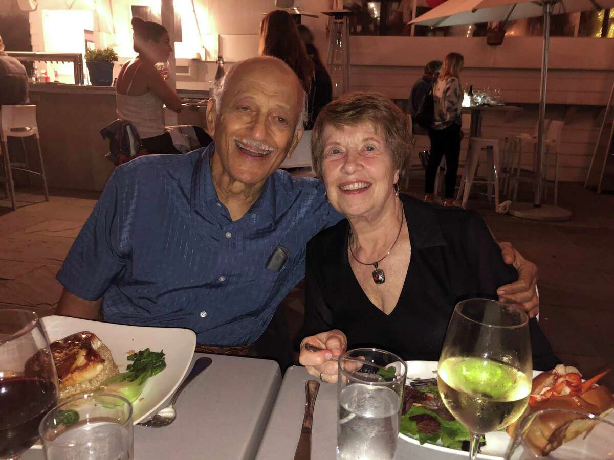 Frank and Karen Elmasry, of New Canaan, are celebrating 60 years of marriage.