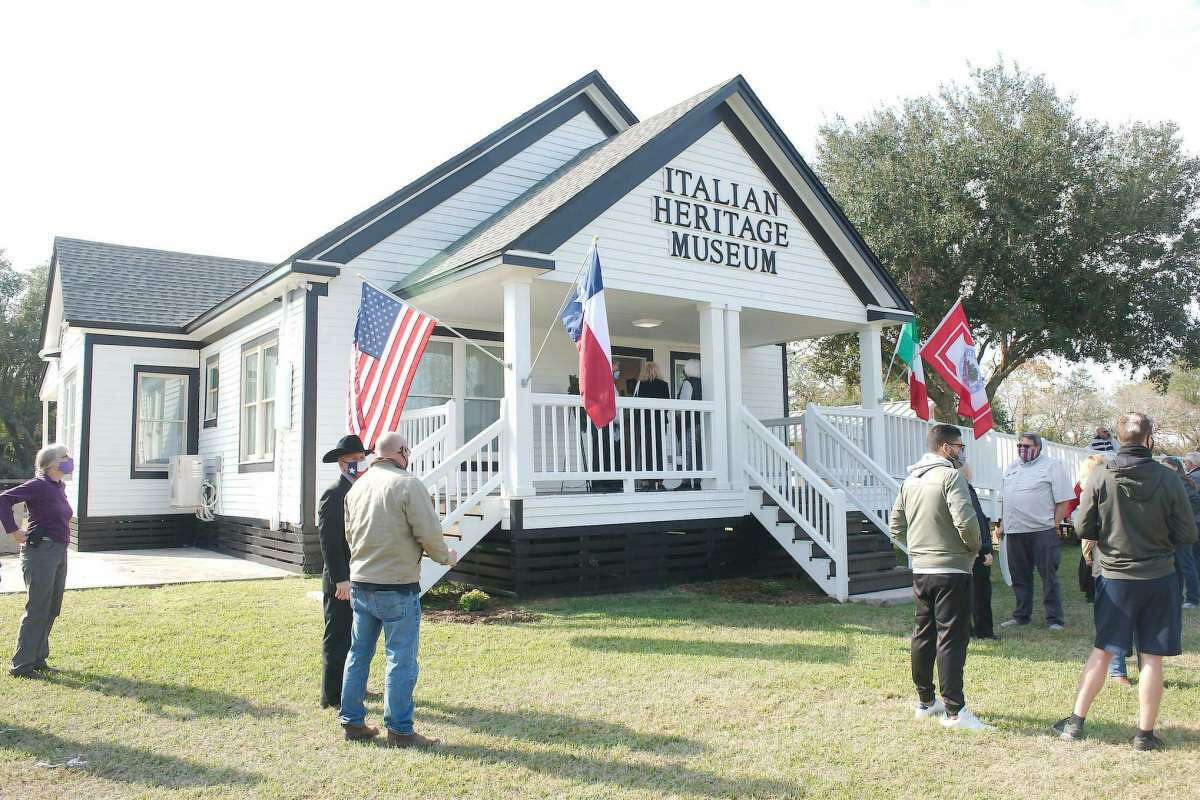 The official dedication of the Italian Heritage Museum was staged Dec. 4. The museum is adjacent to the Butler Longhorn Museum.