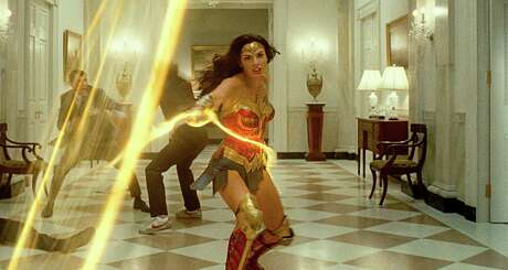 """Gal Gadot stars in """"Wonder Woman 1984,"""" which opens Friday in theaters and on HBO Max."""