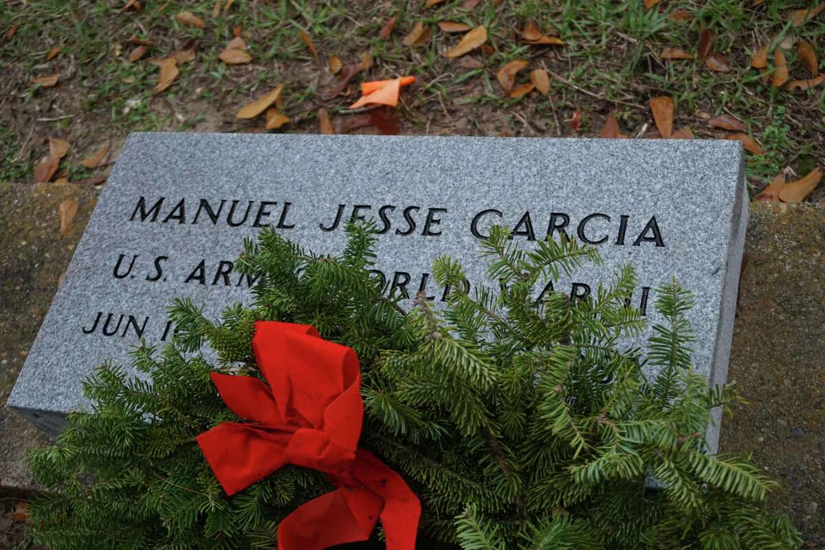 After nearly 39 years of waiting, Katy World War II veteran Manuel J. Garcia now has a permanent headstone at Katy Magnolia Cemetery.