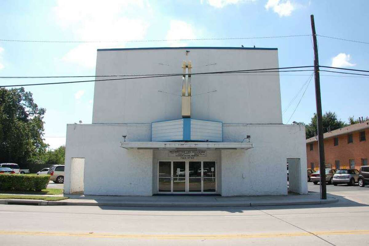Resurrection Life Fellowship in the Heights before it was demolished this December