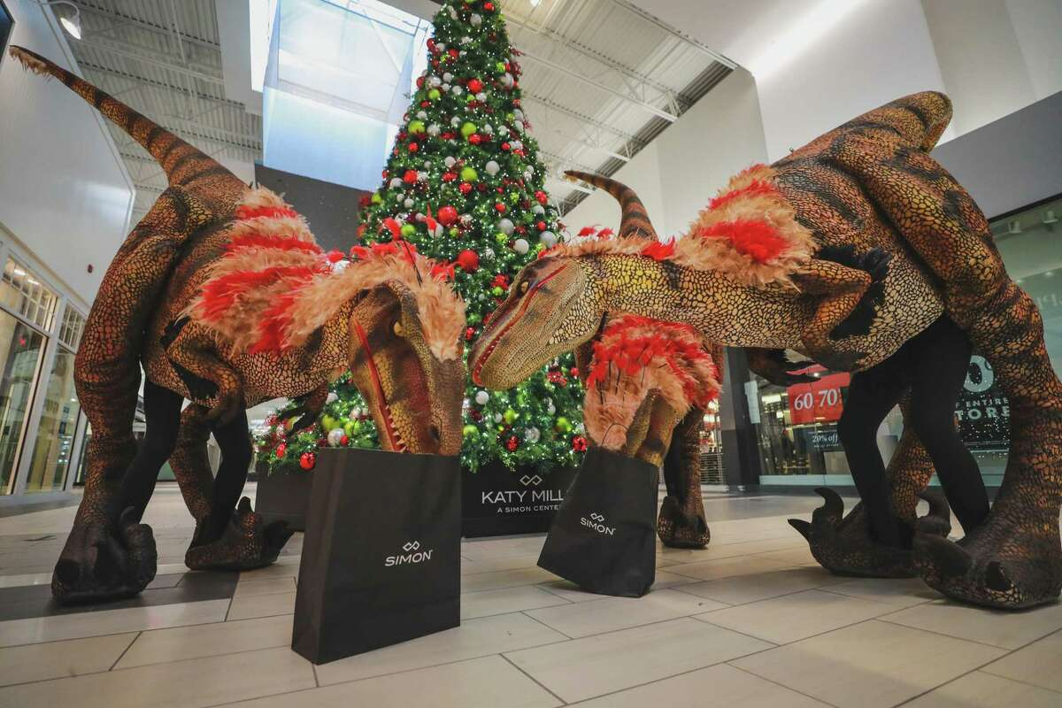 Jurassic Quest, a drive-thru educational experience at Katy Mills Mall, has been extended through Saturday, Dec. 26.