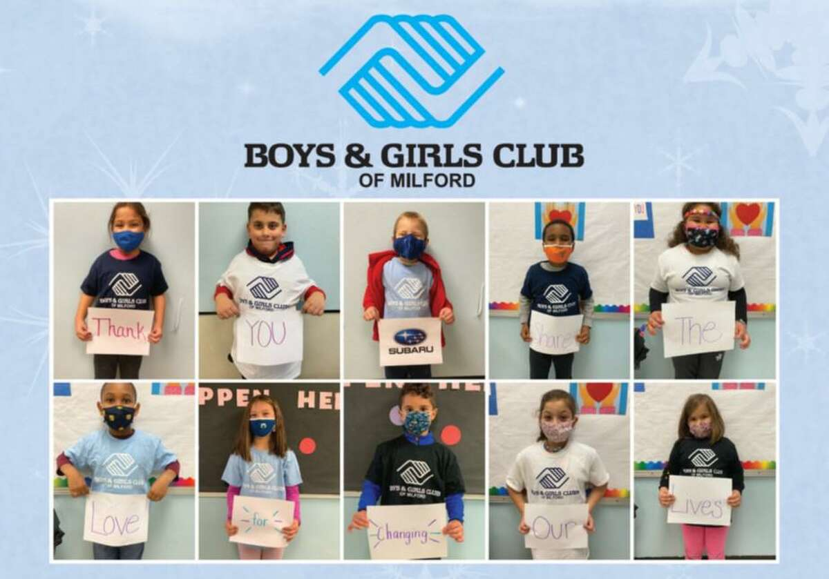 This holiday season the Boys & Girls Club of Milford is a partner of the Dan Perkins Subaru Share the Love Event.