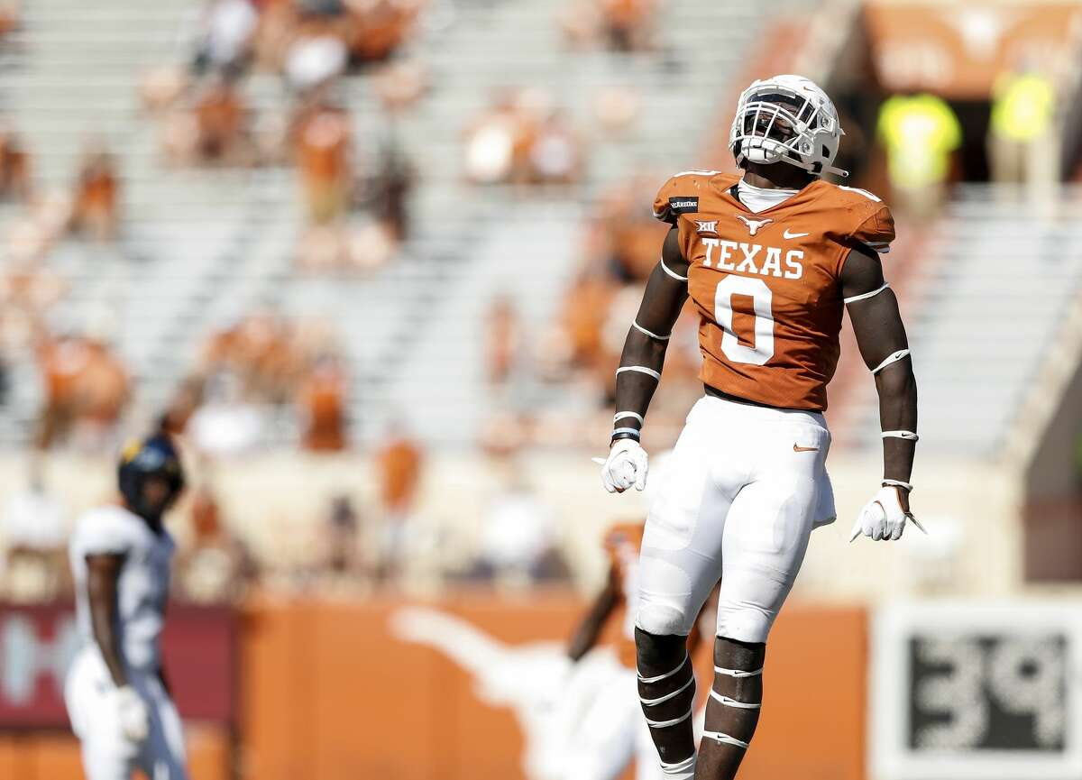 DeMarvion Overshown figures to have one of Texas' starting linebacker spots locked down this fall.