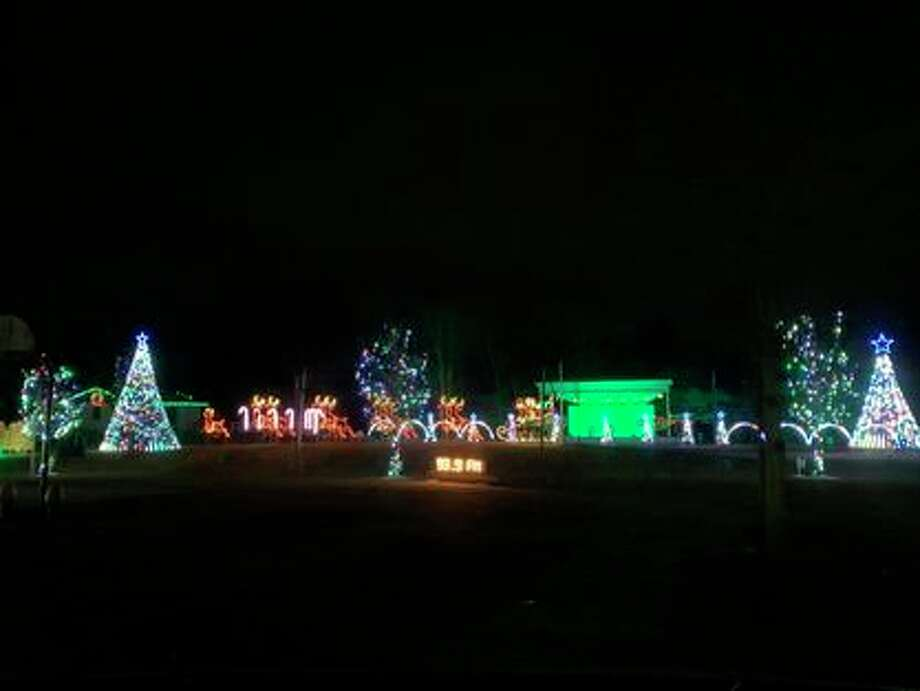 Through Dec. 31: Freeland Lights 2020, a free drive-through light show at the Tittabawassee Township Park, 9200 Midland Road, Freeland, starts at 5:30 p.m. and continues until 10:20 p.m. nightly. (Photo/Freeland Lights Facebook)