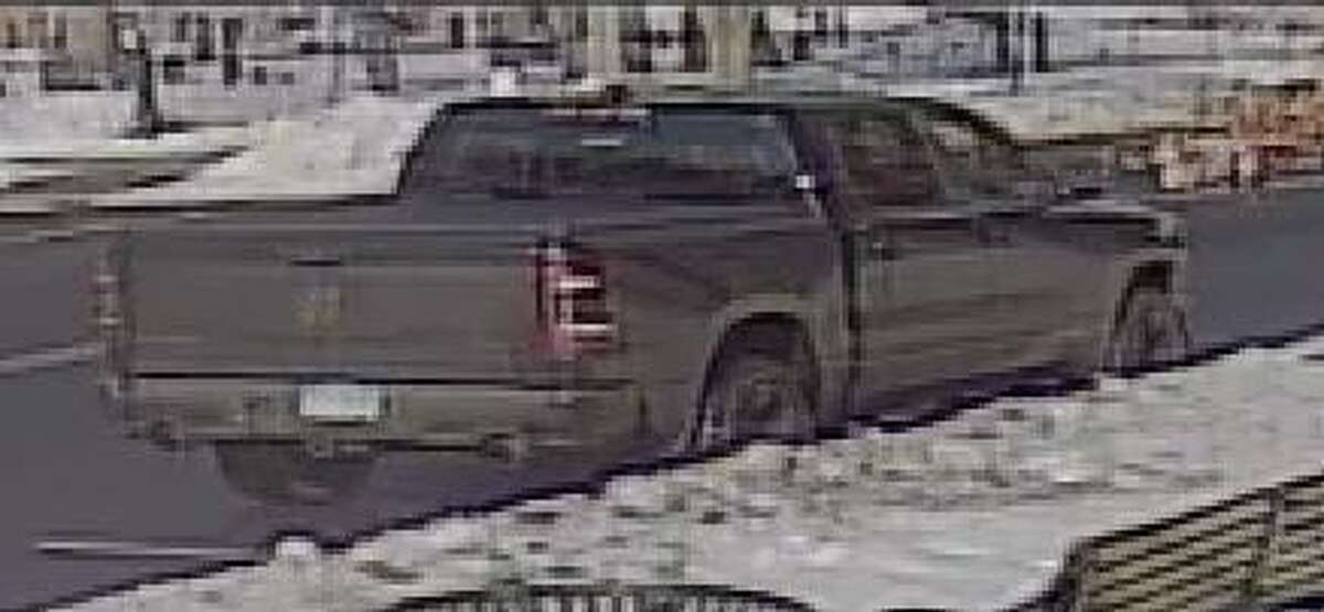 West Haven police are asking for the public's help identifying this truck believed to have been involved in the armed robbery of Steve Goldstein Silver & Gold on Campbell Avenue Tuesday, Dec. 22, 2020.