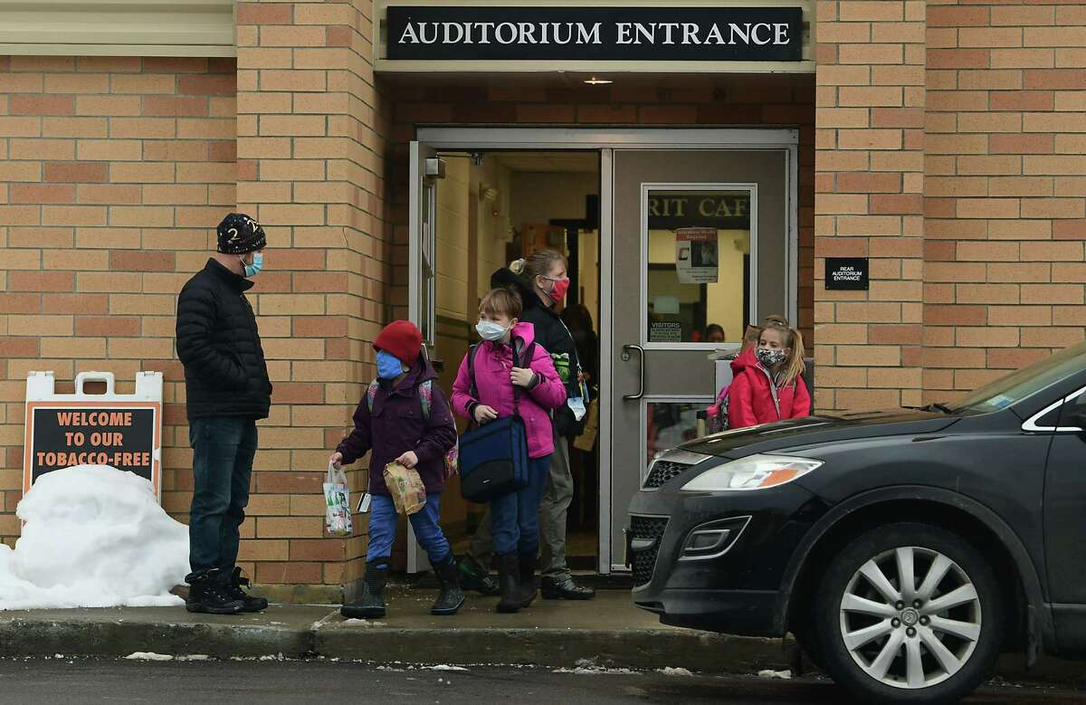 With the threat of the delta and other COVID-19 variants still looming and children under the age of 12 ineligible for the vaccine, many parents don't want their children learning in a crowded classroom setting this fall. . (Lori Van Buren/Times Union)
