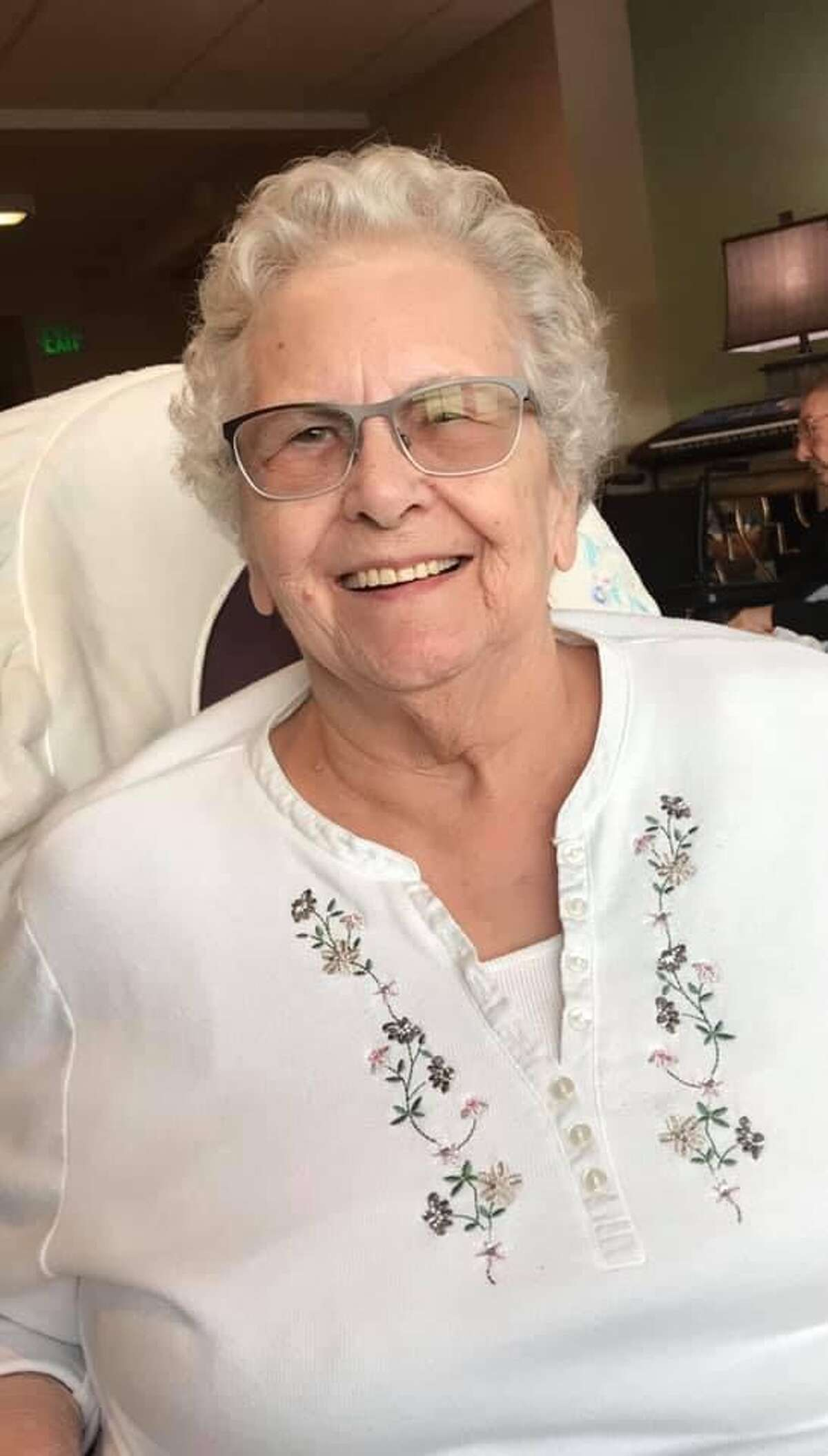 Frances Mealey died at Samaritan Hospital where she worked for 35 years. She was diagnosed on a Saturday and died the following Thursday, Thanksgiving Day.