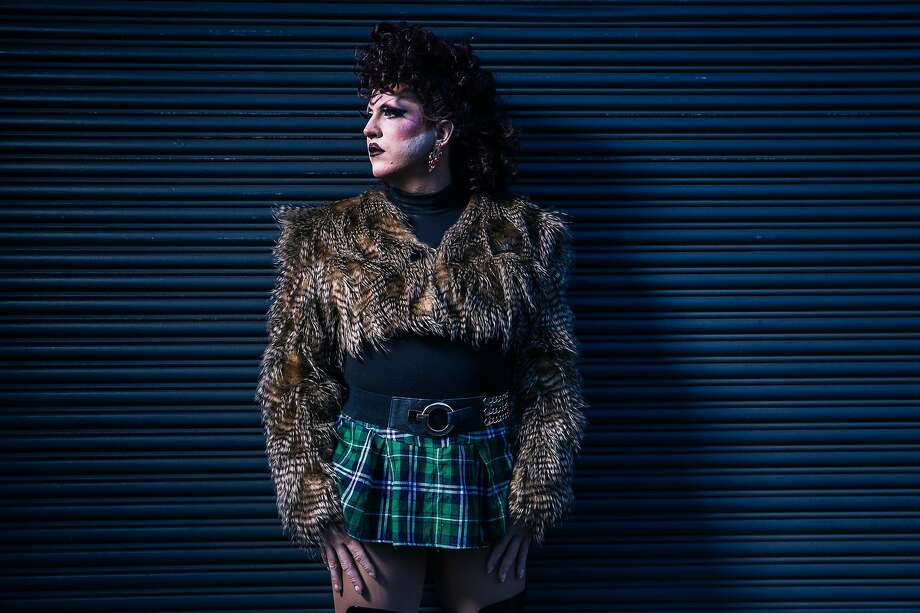 Drag performer Florida Elizabeth Man stands for a portrait on Monday, Dec. 14, 2020 in San Francisco, California. Photo: Stephen Lam / Special To The Chronicle