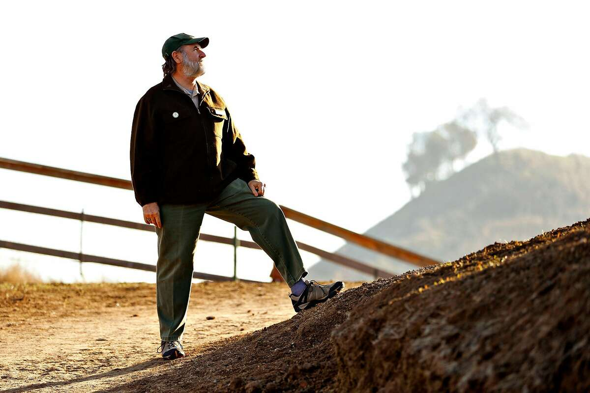 East Bay Regional Parks District General Manager Bob Doyle at Lafayette Ridge Trail in Lafayette. Doyle is retiring on Dec. 30 after 40 years with the district.