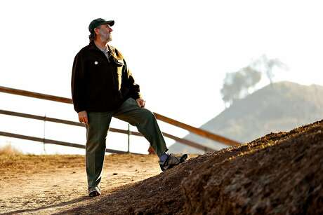 East Bay Regional Parks District general manager Bob Doyle at Lafayette Ridge Trail in Lafayette, Calif., on Monday, December 21, 2020. Doyle is retiring on December 30th after 20 years as GM and 40 with the district.