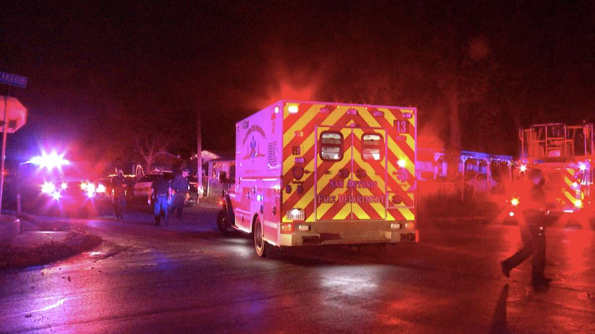 Two teenagers were hospitalized early Wednesday following an accidental shooting, according to San Antonio police.