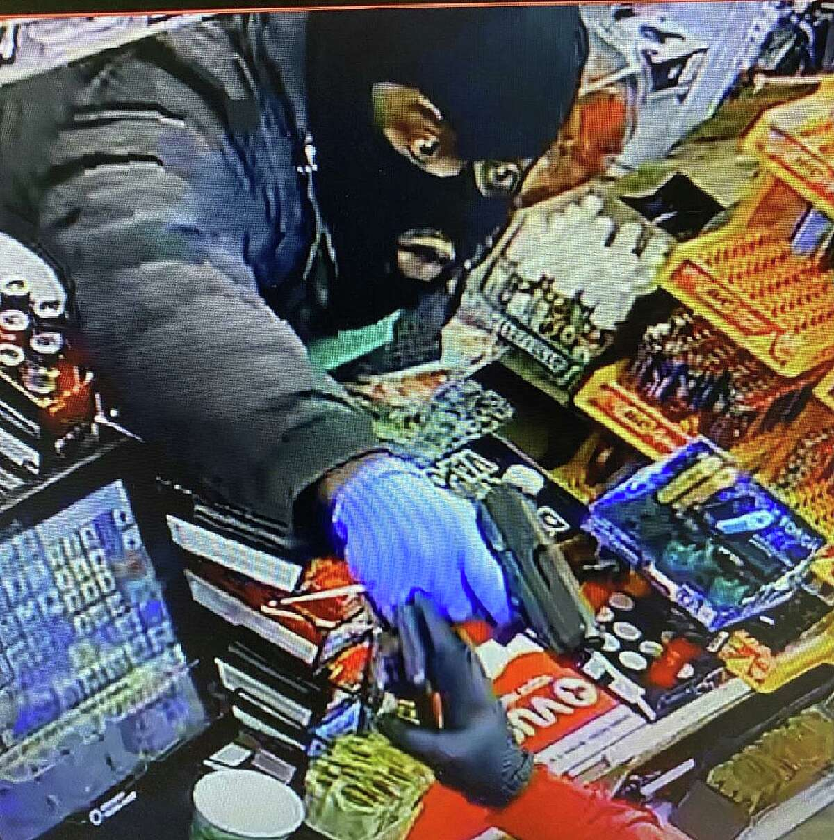 Police said multiple suspects robbed a gas station with at least one handgun on Tuesday, Dec. 22, 2020.
