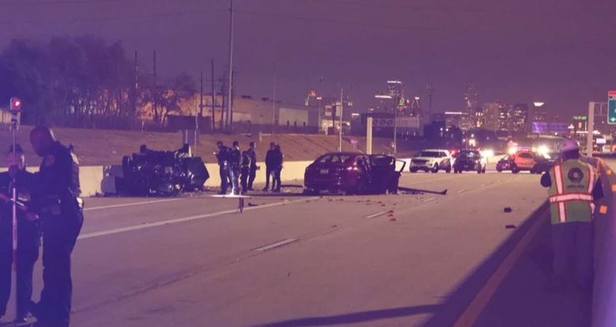 Two women died Tuesday, Dec. 22, 2020, in a wrong-way crash on the Texas 288 toll road.