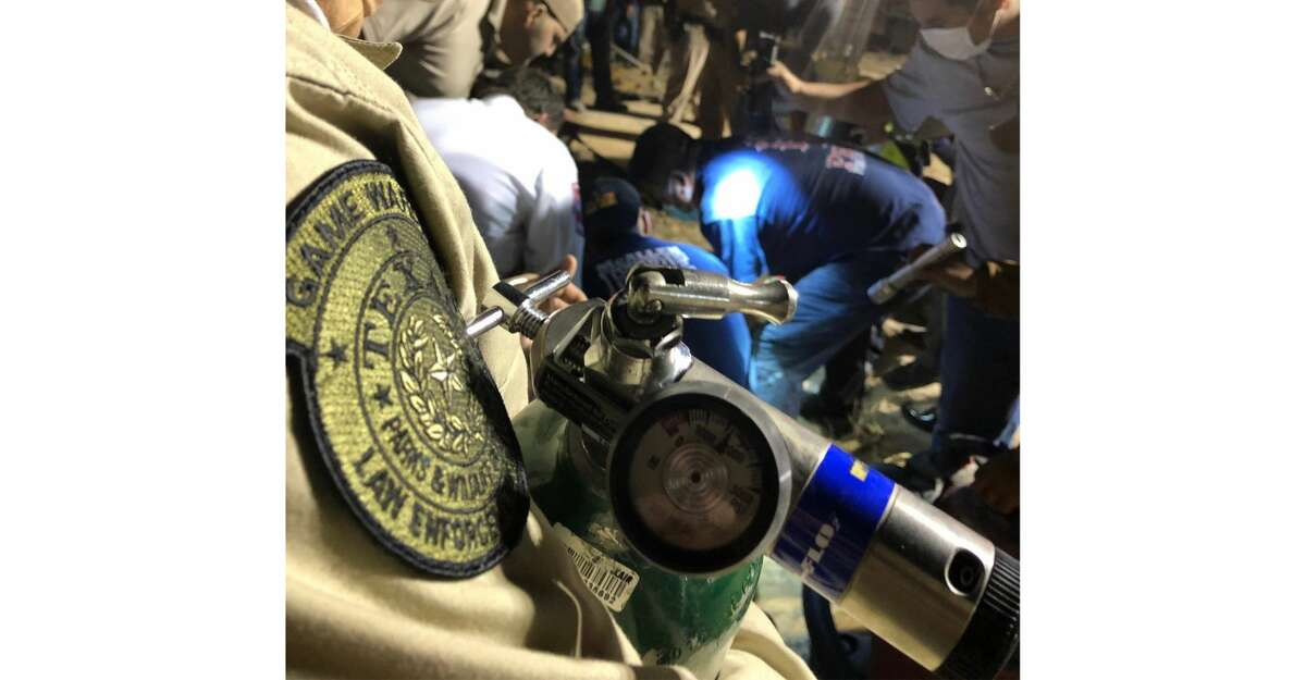 Texas game wardens used their new oxygen resuscitation kits for the first time during a rescue of a boy trapped in a well in South Texas.