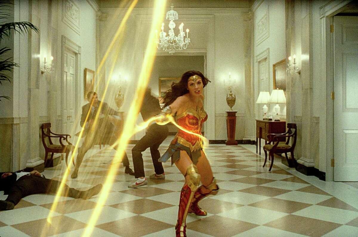 "Gal Gadot as Wonder Woman in ""Wonder Woman 1984."" (Warner Bros. Pictures/TNS)"