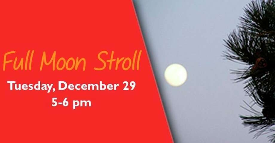 Tuesday, Dec. 29: Full Moon Stroll is set for 5 to 6 p.m. at the Chippewa Nature Center in Midland. (Photo/Chippewa Nature Center Facebook)