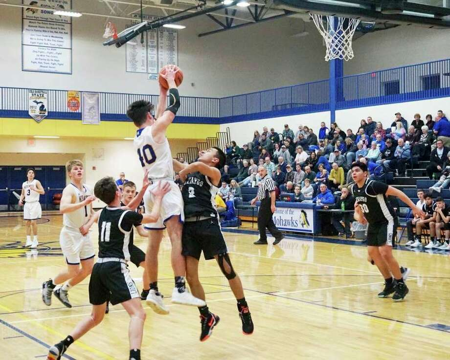 Despite a dominant performance by the Morley Stanwood boys basketball team in 2019-20, COVID-19 forced the cancellation of the season just before the district title game. (Pioneer file photo)