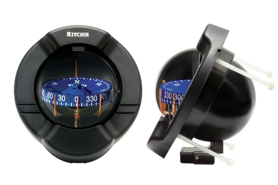 A magnetic compass on a boat is the most dependable navigational aid. Photo: Ritchie Navigation