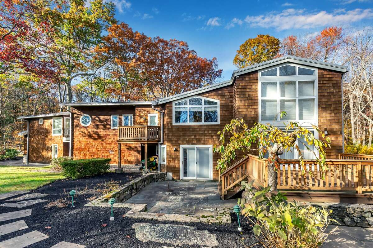 The modern ranch at 52 Knapp Street, Easton was inspired by Charles Eames's design principle of integrating the home into the landscape. Walsh said because the market is
