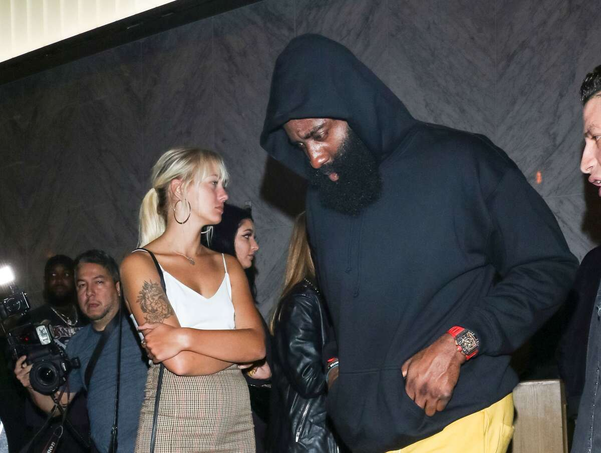 James Harden out and about in Los Angeles, California on Aug. 14, 2019. (Photo by gotpap/Bauer-Griffin/GC Images)