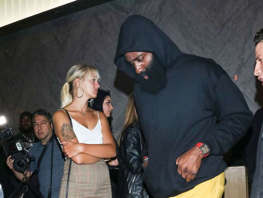 James Harden out and about in Los Angeles, California on Aug. 14, 2019. (Photo by gotpap/Bauer-Griffin/GC Images) Photo: Gotpap/Bauer-Griffin/GC Images / 2019 Bauer-Griffin