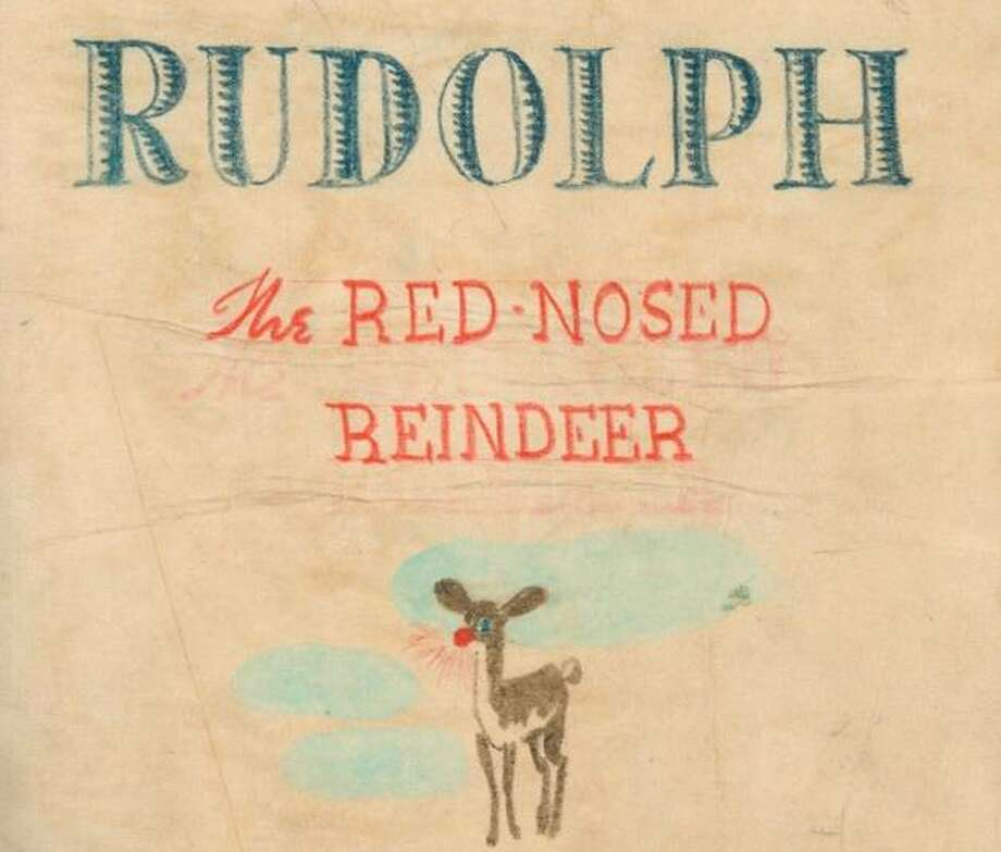 Eighty years ago Robert May — an Illinois copywriter at Montgomery Ward — brought to life Rudolph the Red Nosed Reindeer. But the illuminated saver of Christmas almost was named Rollo. Additional images from the original manuscript for Rudolph the Red Nosed Reindeer and the finished book in 1939.