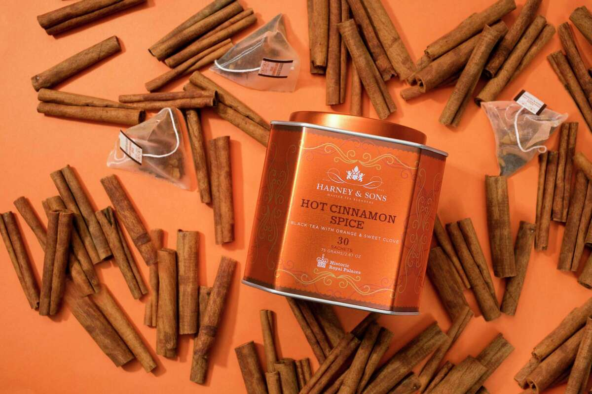 Hot Cinnamon Spice is Harney & Sons most popular tea blend.
