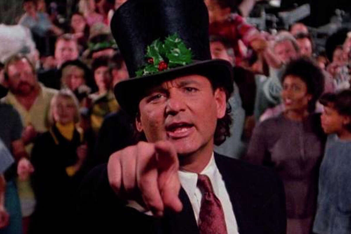 """Rent """"Scrooged"""" for $3.99 at Amazon.com"""