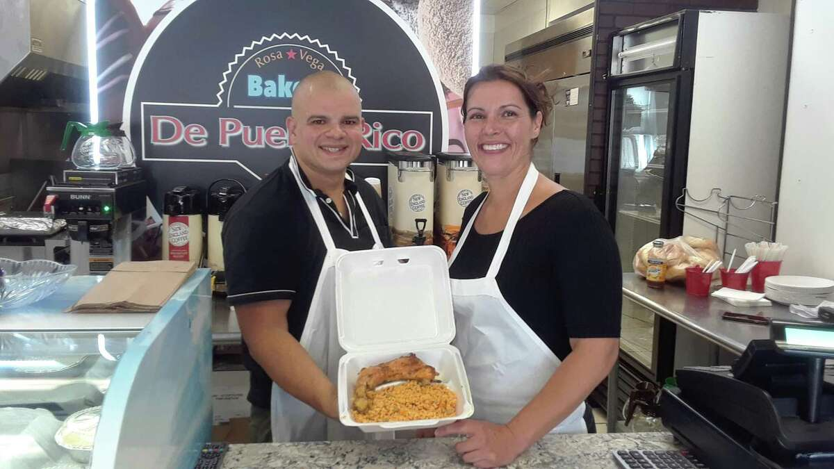 Rosa Vega de Puerto Rico, a bakery and restaurant, specializes in home cooking from Puerto Rico and is owned by Carlos Vega and Jennifer Rosa.