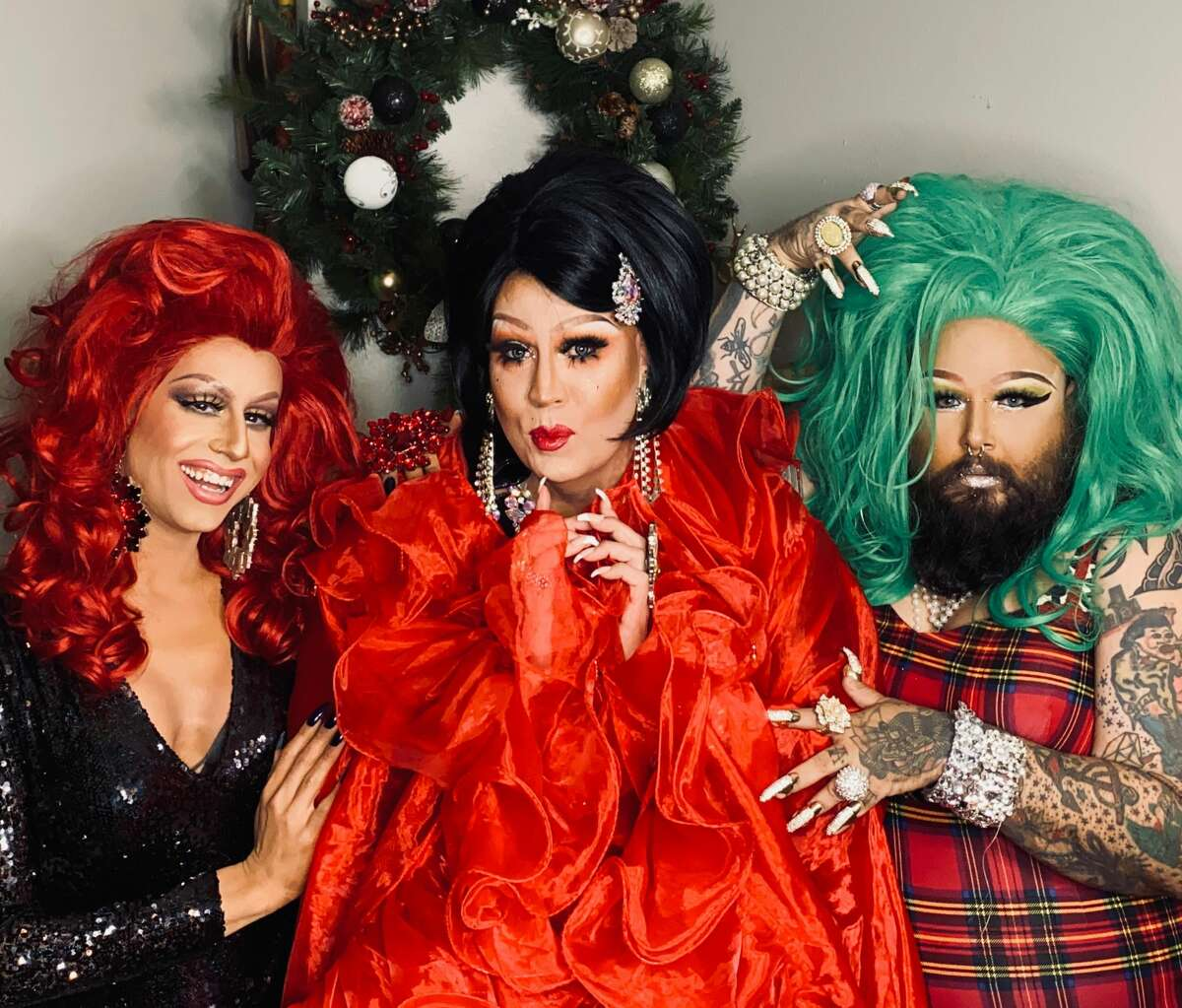 Dazzle your Christmas Day with a pre-recorded show by three local drag queens aiming to give back to the community.