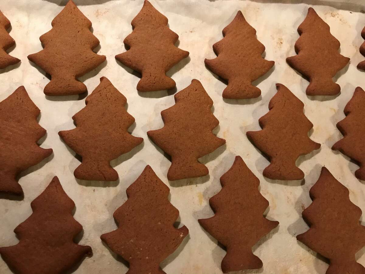 """One holiday tradition for Ginny Masengarb is German-style cookies, like """"Grandpa Hans' molasses cookies"""". (Courtesy photo)"""