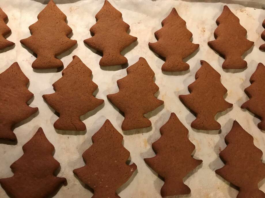 """One holiday tradition for Ginny Masengarb is German-style cookies, like """"Grandpa Hans' molasses cookies"""". (Courtesy photo) Photo: Courtesy Photo"""
