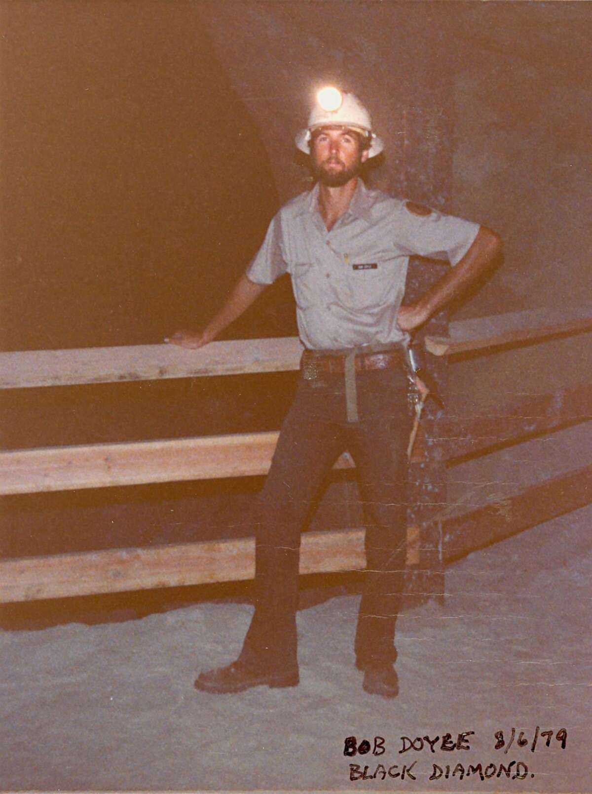 Bob Doyle at Black Diamond Mines Regional Preserve in Antioch in 1989. Doyle, now East Bay Regional Parks District general manager, is retiring on Dec. 30 after 40 years with the district.