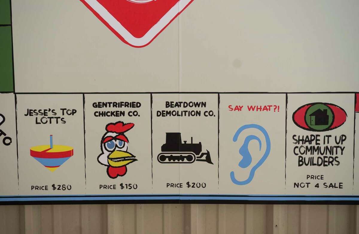 Marc Newsome's 3rd Ward Gentrification Monopoly board