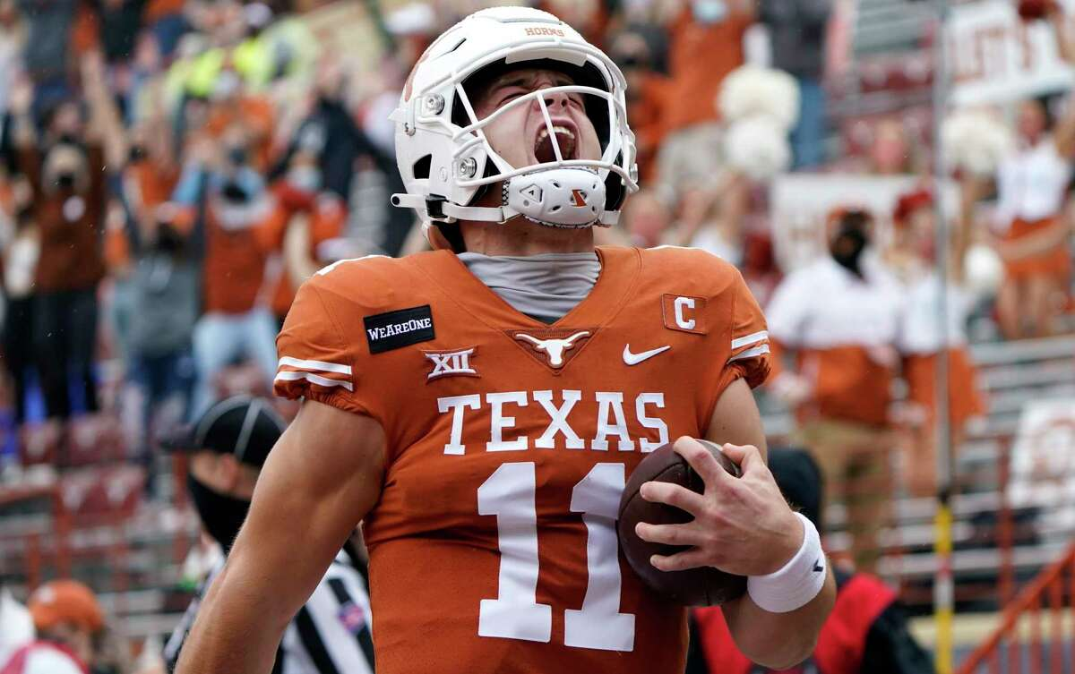 The Indianapolis Colts drafted Texas QB Sam Ehlinger in the sixth round of the 2021 NFL draft.