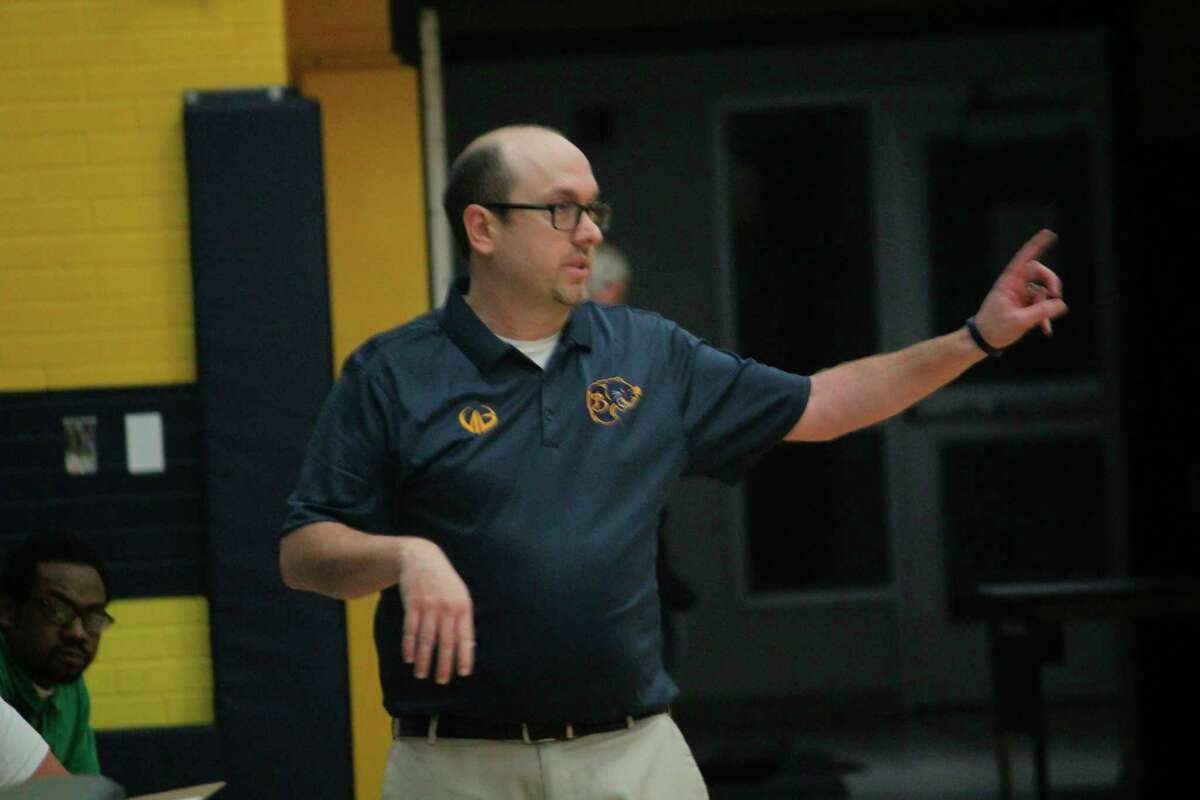 """Baldwin boys coach and former Reed City boys and Crossroads girls basketball coach JJ Eads: """"Hopefully we'll be allowed to get a completed season in."""" (File photo)"""