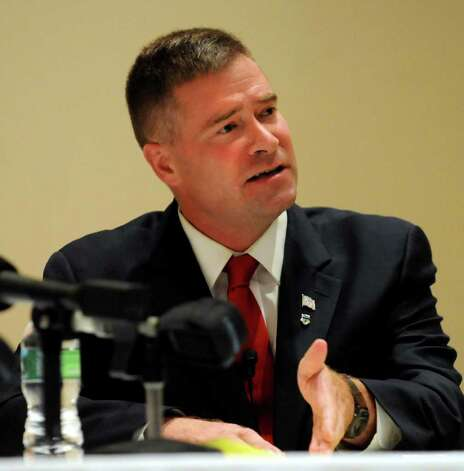Republican House candidate Chris Gibson says his donations are increasing, reflecting grassroots support. Photo: Cindy Schultz / 00009958A