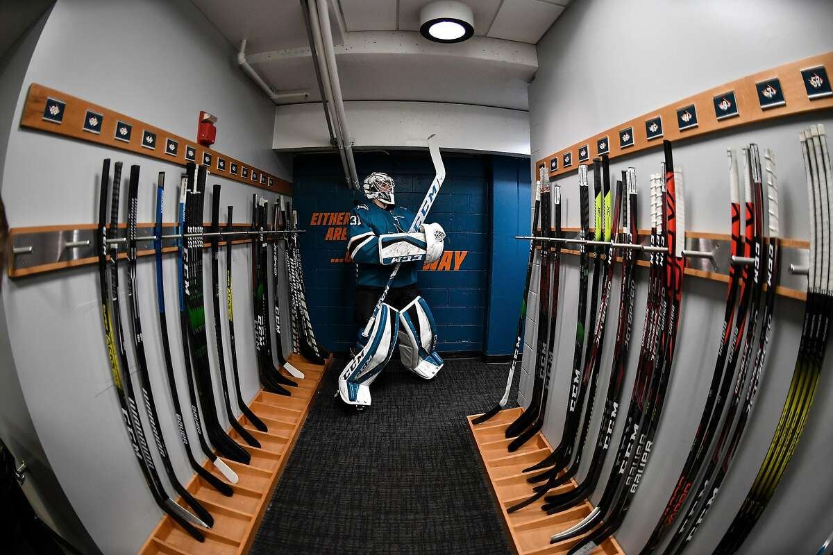 Santa Clara County's coronavirus rules prompted the Sharks to move their training camp from San Jose to Arizona. When they will be able to play at SAP Center is unclear.