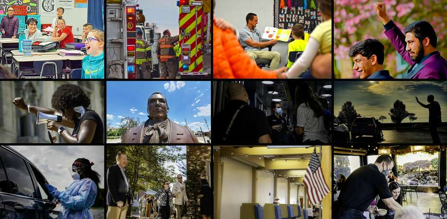 Reporter Tyler Pletsch's top 12 photos of the year, through the months. Photo: The Intelligencer