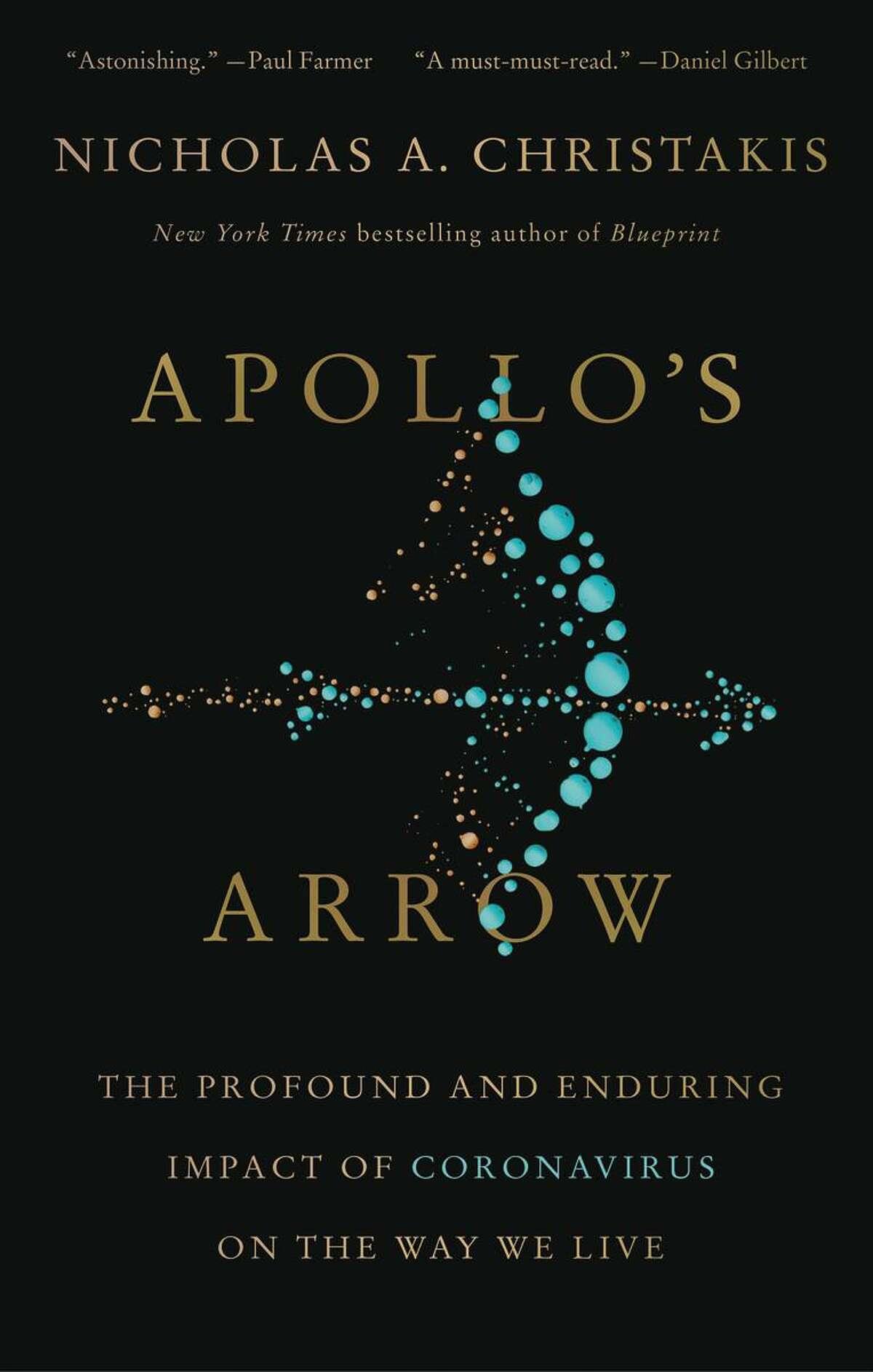 "The cover of the book ""Apollo's Arrow."""
